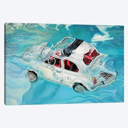 Positano Canvas Print #MPC24} by Marcello Petisci Art Print