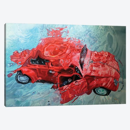 Red Cox Canvas Print #MPC25} by Marcello Petisci Canvas Print