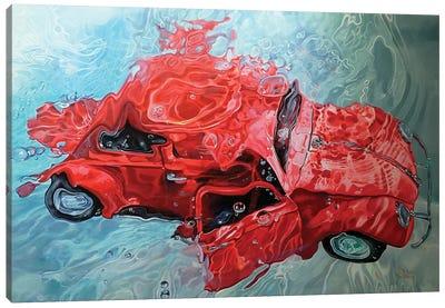 Red Cox Canvas Art Print