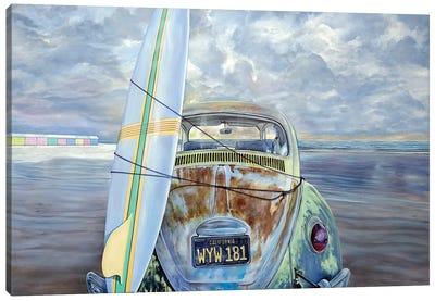 Surf Canvas Art Print