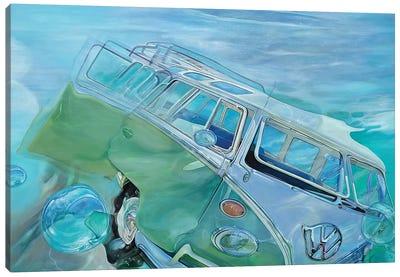 Trip Op Canvas Art Print