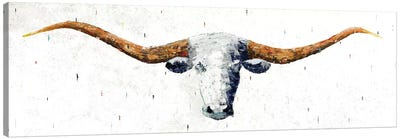 Longhorn Canvas Art Print