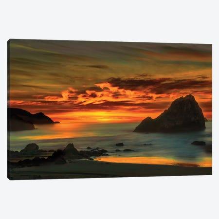 Northerrn Cali Sunset Canvas Print #MPH100} by MScottPhotography Canvas Art Print