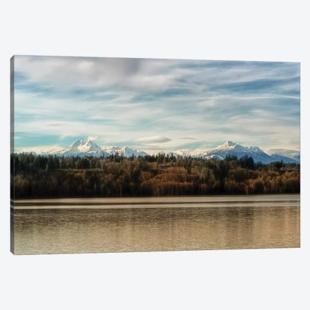 Olympic View Canvas Print #MPH102} by MScottPhotography Art Print