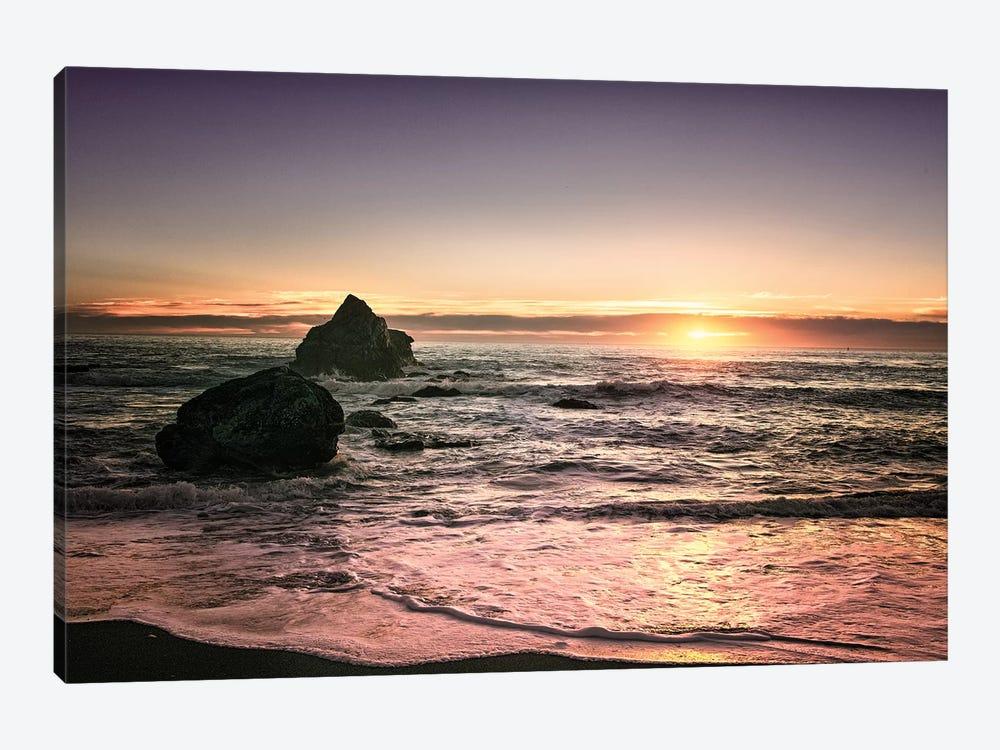 Oregon Sunset by MScottPhotography 1-piece Canvas Print