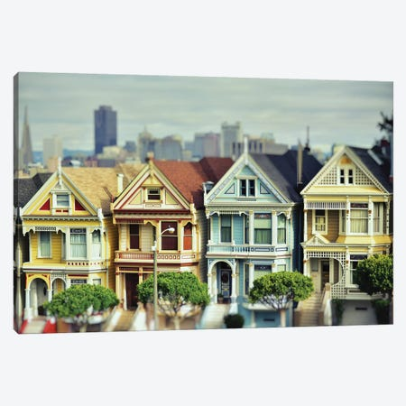 Painted Ladies Canvas Print #MPH107} by MScottPhotography Canvas Art