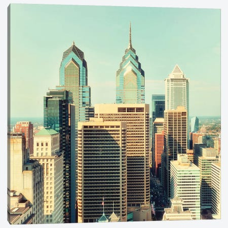 Philly Canvas Print #MPH111} by MScottPhotography Canvas Artwork