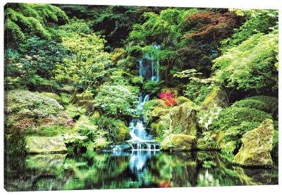 Portland Japanese Garden Canvas Art Print