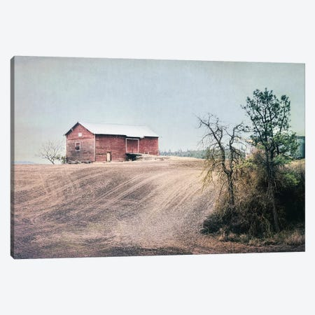 Red Barn Palouse Canvas Print #MPH117} by MScottPhotography Canvas Art Print