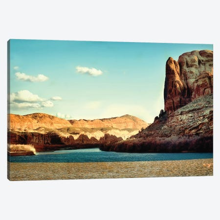 Red Rock Canvas Print #MPH119} by MScottPhotography Canvas Art