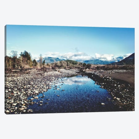 River Reflection Canvas Print #MPH120} by MScottPhotography Canvas Art Print