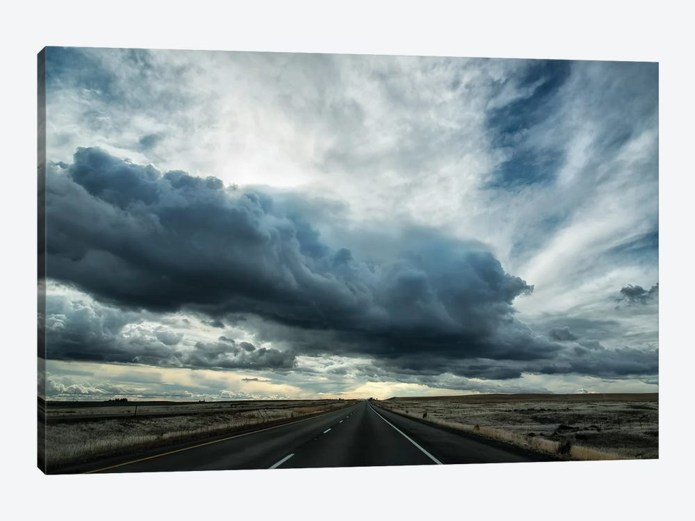 Road to spokane by MScottPhotography 1-piece Canvas Art