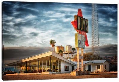 Roys Route 66 Canvas Art Print
