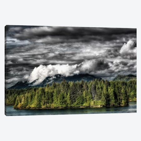 Tofino Storm Canvas Print #MPH153} by MScottPhotography Canvas Wall Art