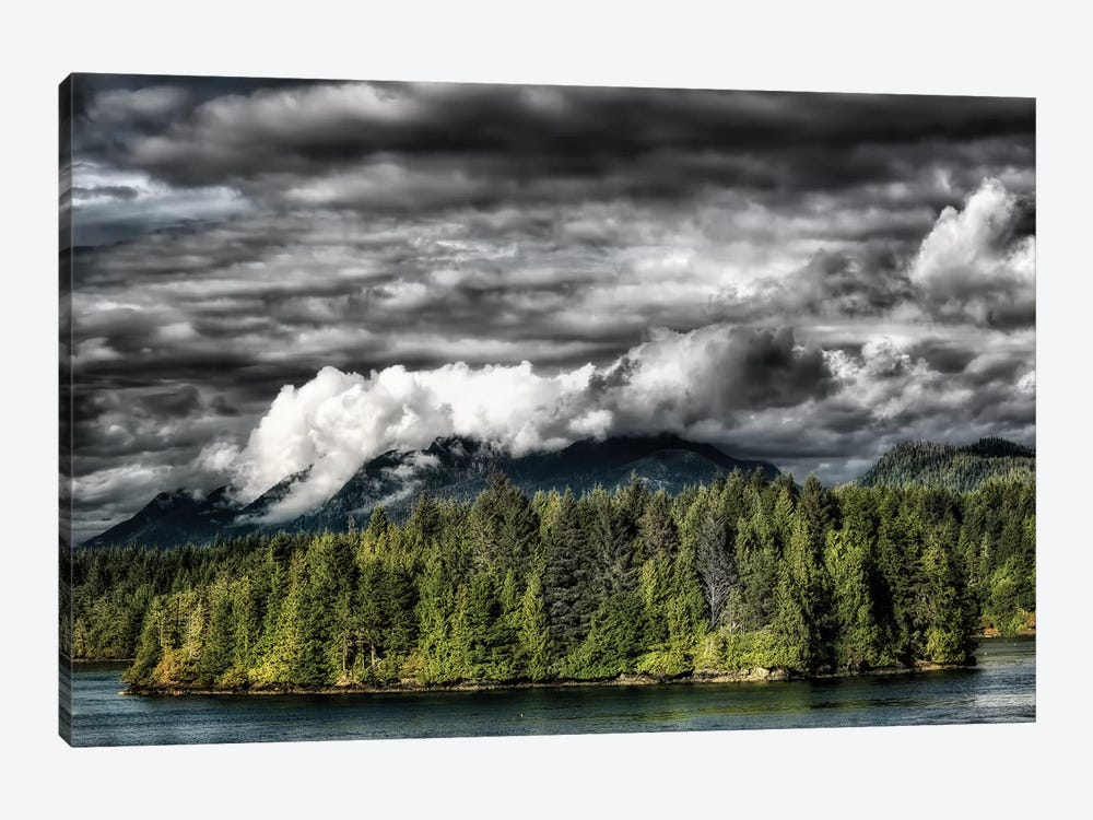 Tofino Storm by MScottPhotography 1-piece Canvas Wall Art