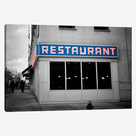 Toms Diner Canvas Print #MPH154} by MScottPhotography Canvas Print
