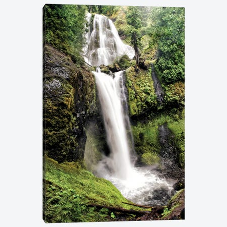 Waterfall Canvas Print #MPH160} by MScottPhotography Art Print