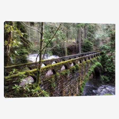 Whatcom Bridge 3-Piece Canvas #MPH163} by MScottPhotography Canvas Art Print
