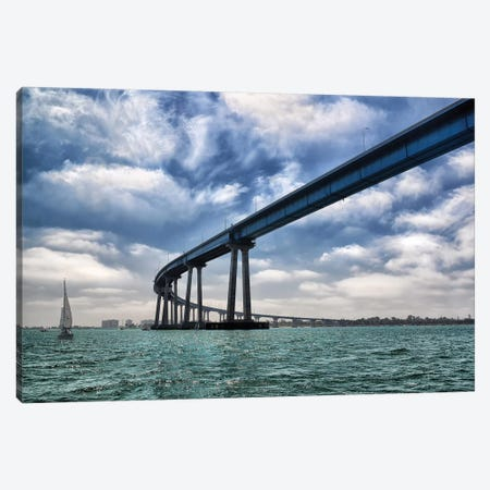 Coronado Bay Bridge Canvas Print #MPH18} by MScottPhotography Canvas Artwork