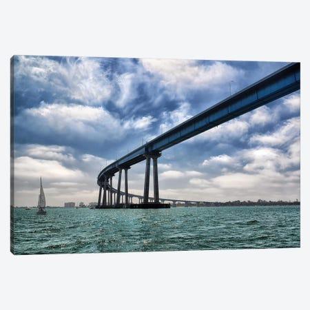 Coronado Bay Bridge Canvas Print #MPH18} by MScottPhotography Canvas Artwork