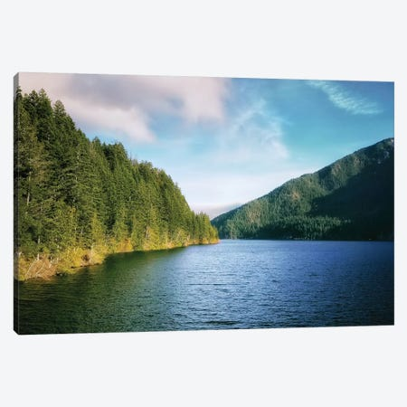 Crescent Lake Canvas Print #MPH19} by MScottPhotography Canvas Art