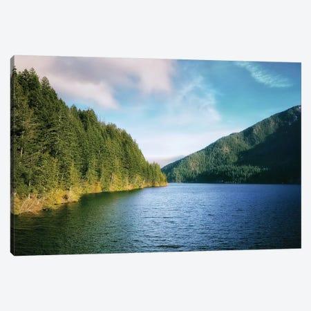 Crescent Lake Canvas Print #MPH19} by MScottPhotography Canvas Art