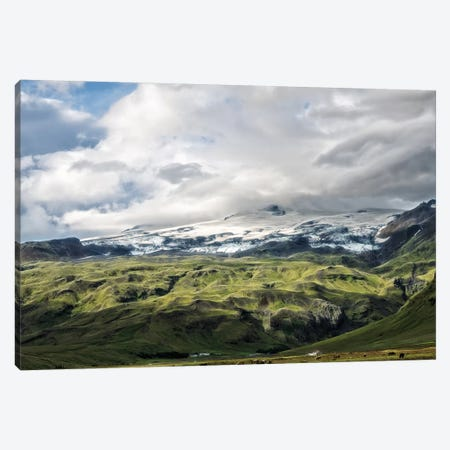 Glacial Green Canvas Print #MPH47} by MScottPhotography Canvas Artwork