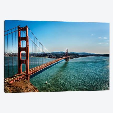 Golden Gate Canvas Print #MPH48} by MScottPhotography Canvas Print