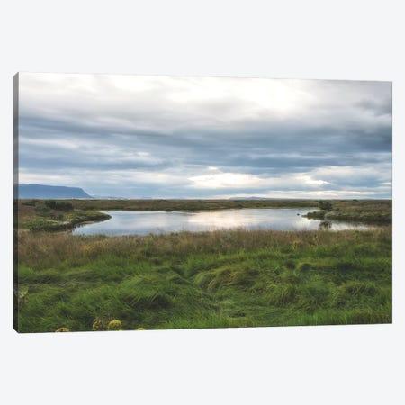 Grassy Pond Canvas Print #MPH49} by MScottPhotography Art Print