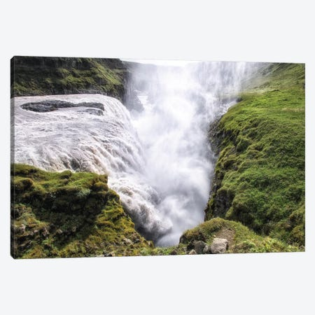 Gulfoss Waterfall Canvas Print #MPH50} by MScottPhotography Canvas Wall Art