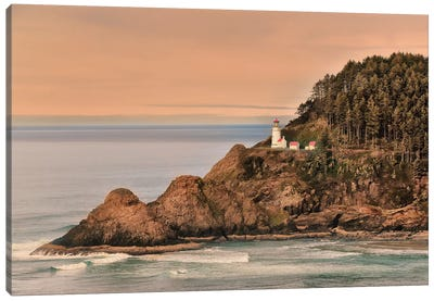 Heceta Head Lighthouse Canvas Art Print