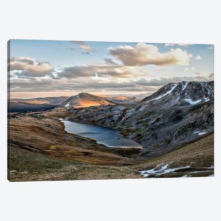 Hidden Lake Canvas Print #MPH55} by MScottPhotography Canvas Art Print