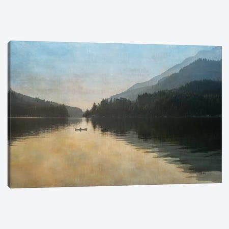 Lake Sutherland Dawn Canvas Print #MPH69} by MScottPhotography Canvas Art Print