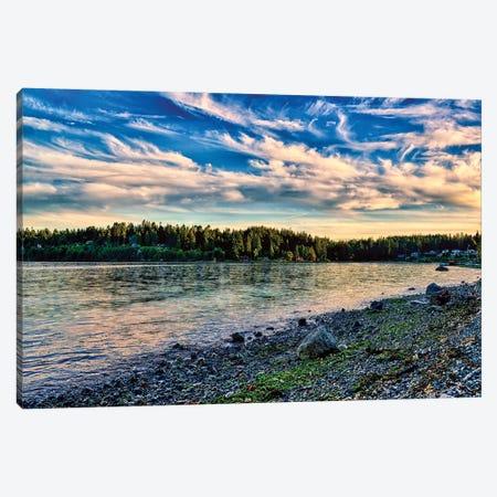 Bainbridge Hidden Cove Canvas Print #MPH6} by MScottPhotography Art Print