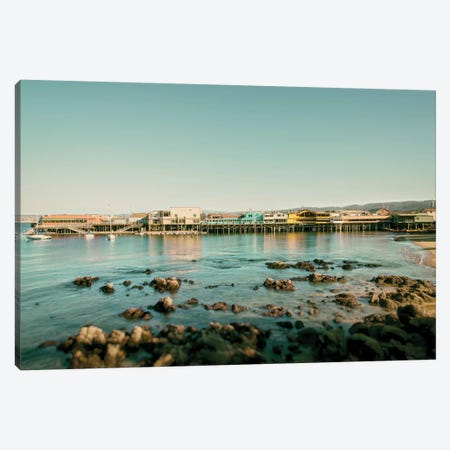 Monterey Pier Canvas Print #MPH89} by MScottPhotography Canvas Print