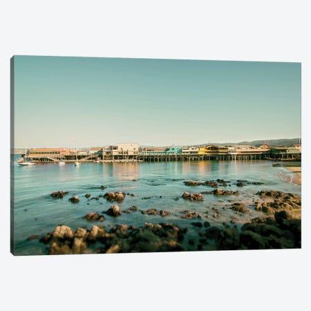 Monterey Pier Canvas Print #MPH89} by MScottPhotography Canvas Print