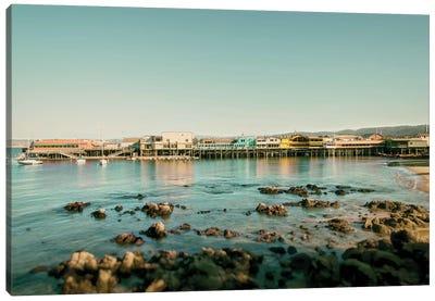 Monterey Pier Canvas Art Print