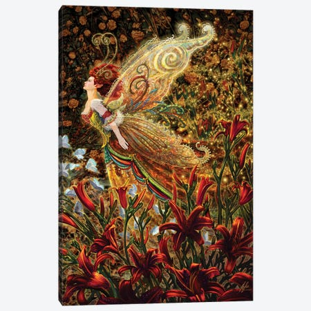 Lily Canvas Print #MPK12} by Myles Pinkney Canvas Print