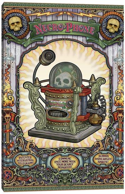 Necro-Phone Canvas Art Print
