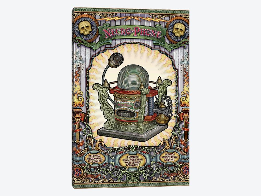Necro-Phone by Myles Pinkney 1-piece Canvas Art