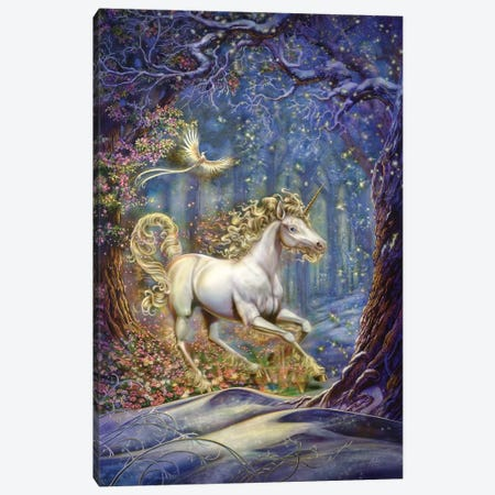 Unicorn Canvas Print #MPK20} by Myles Pinkney Canvas Art