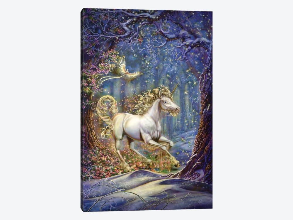Unicorn by Myles Pinkney 1-piece Canvas Artwork
