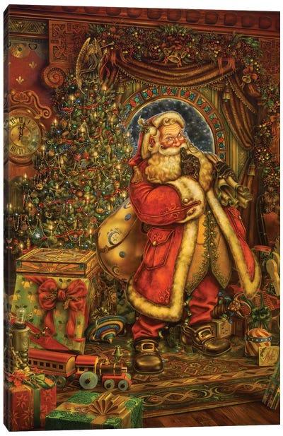 Christmas Presence Canvas Art Print