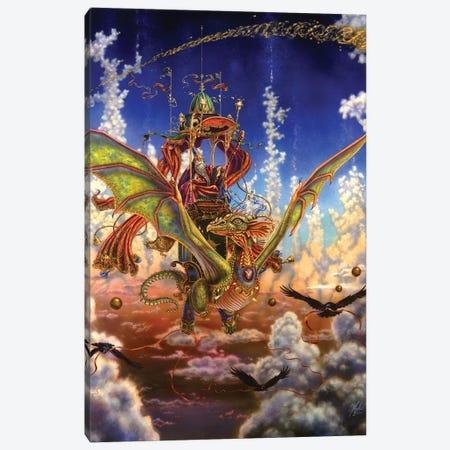 Dragon Flight Canvas Print #MPK6} by Myles Pinkney Canvas Art