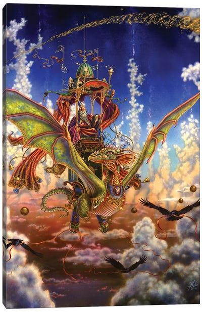 Dragon Flight Canvas Art Print