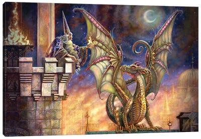 Dragon's Fire I Canvas Art Print