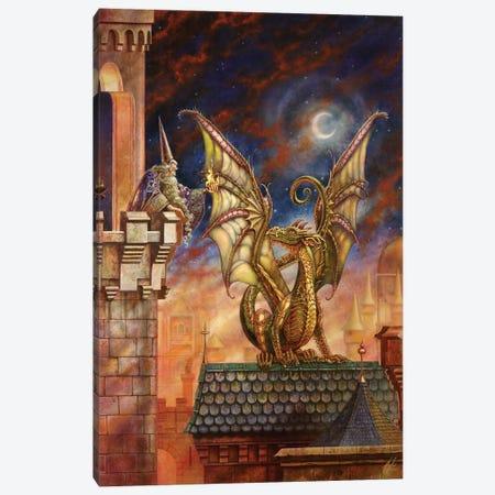 Dragon's Fire II Canvas Print #MPK9} by Myles Pinkney Art Print