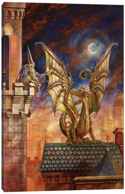 Dragon's Fire II Canvas Art Print