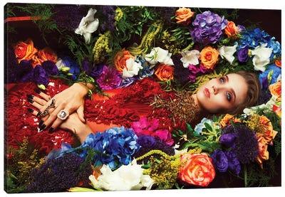 Floral Memoir Canvas Art Print