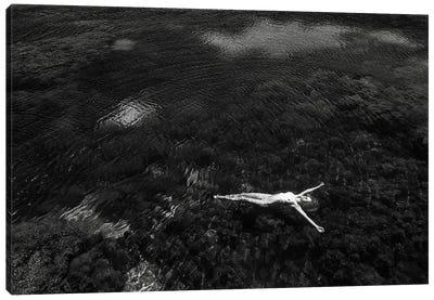 Open Water Canvas Art Print